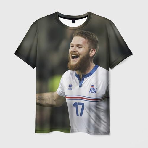 Мужская футболка 3D Aron Gunnarsson