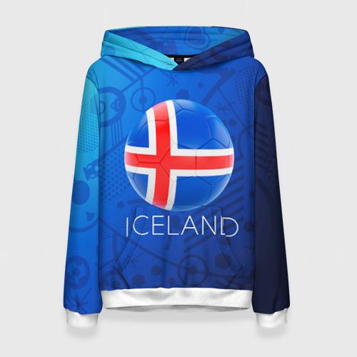 Женская толстовка 3D Исландия