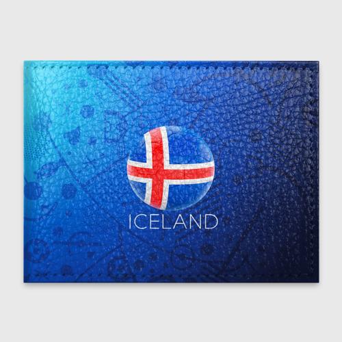 Обложка для студенческого билета Исландия