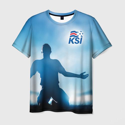 Мужская футболка 3D Победа!
