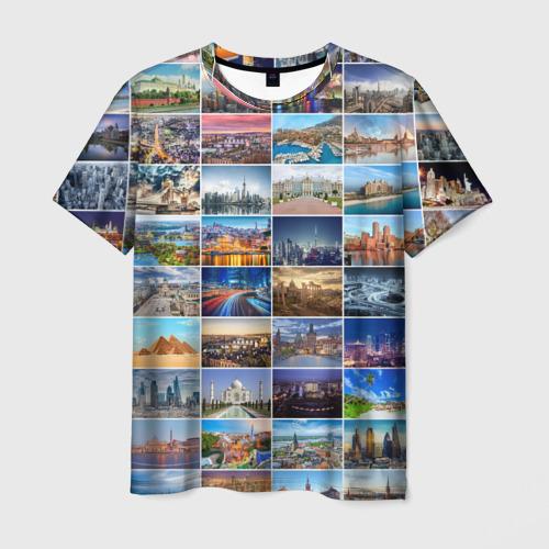 Мужская футболка 3D Туризм (10х10)