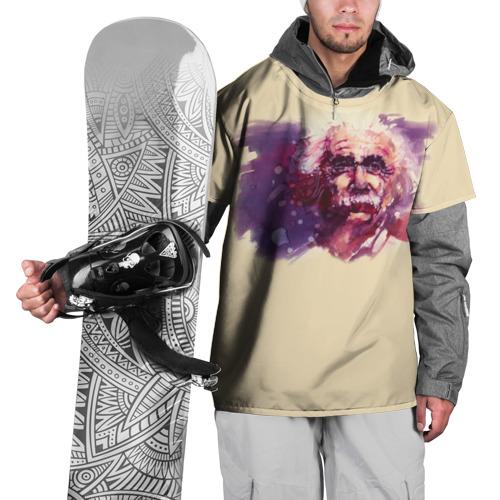 Накидка на куртку 3D Альберт Эйнштейн (Art)