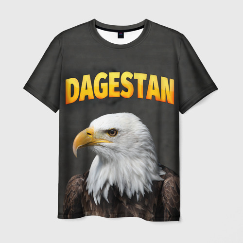 Мужская футболка 3D Дагестан 3