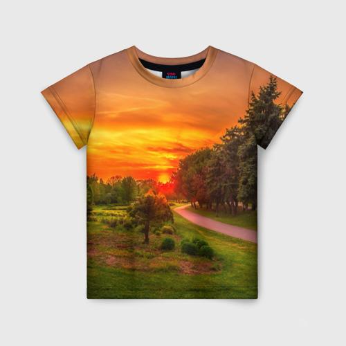 Детская футболка 3D Канада
