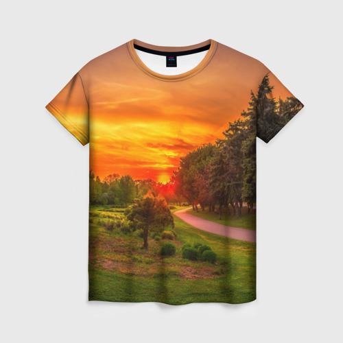 Женская футболка 3D Канада