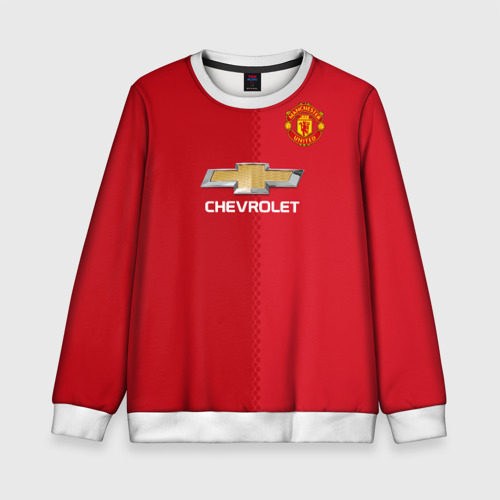 Детский свитшот 3D Манчестер Юнайтед форма
