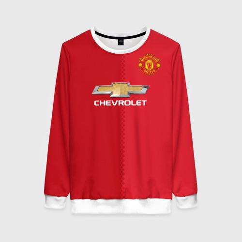 Женский свитшот 3D Манчестер Юнайтед форма