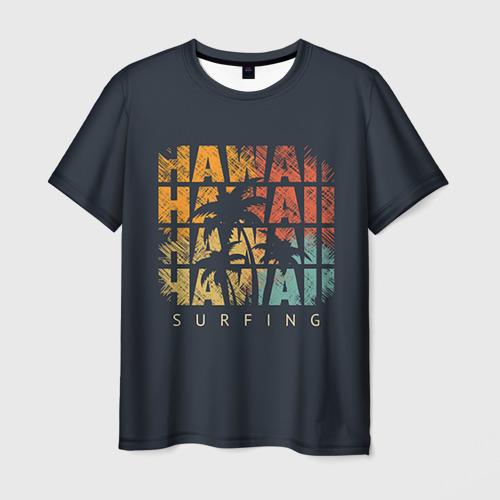 Мужская футболка 3D HAWAII
