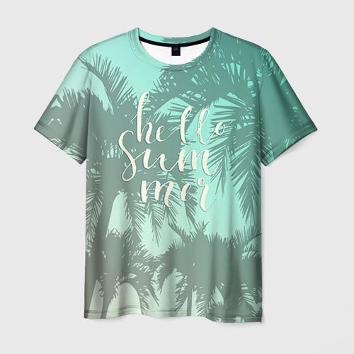 Мужская футболка 3D HAWAII 8