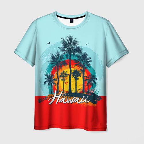 Мужская футболка 3D HAWAII 6