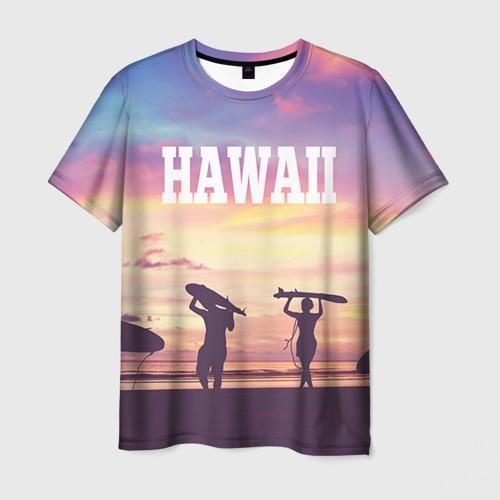 Мужская футболка 3D HAWAII 3