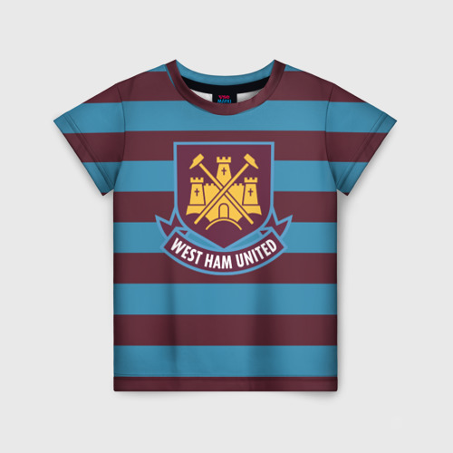 Детская футболка 3D West Ham United