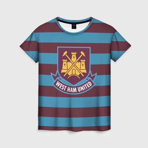 Женская футболка 3D West Ham United