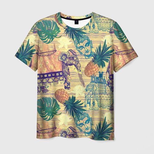 Мужская футболка 3D Индия 2