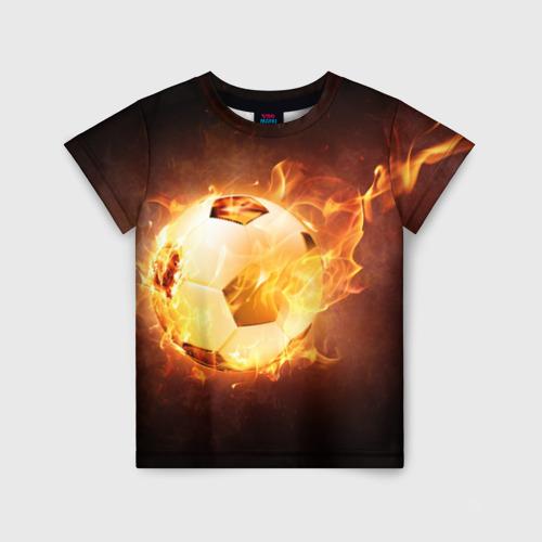 Детская футболка 3D Мяч