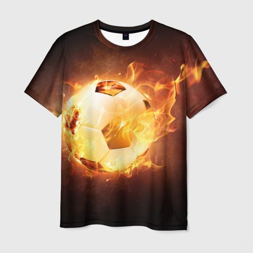 Мужская футболка 3D Мяч