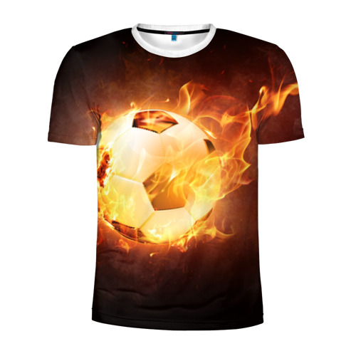 Мужская футболка 3D спортивная Мяч