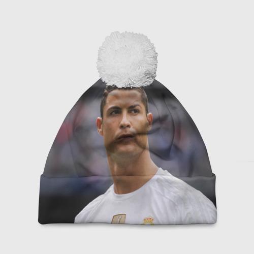 Шапка 3D c помпоном Cristiano Ronaldo