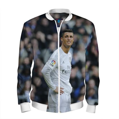 Мужской бомбер 3D Cristiano Ronaldo