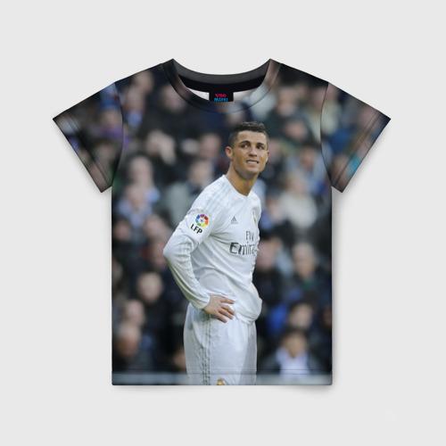 Детская футболка 3D Cristiano Ronaldo