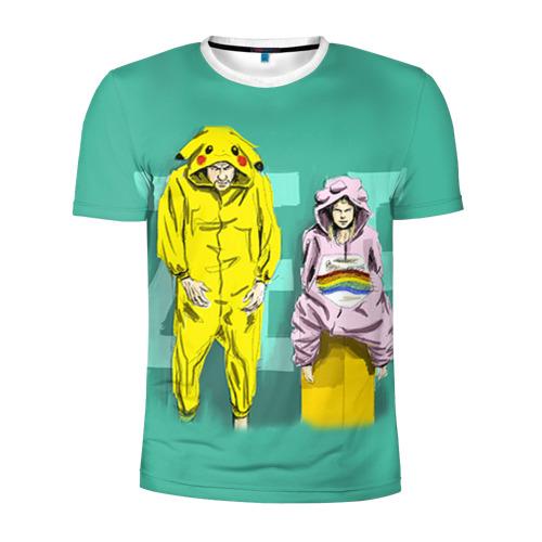 Мужская футболка 3D спортивная Die Antwoord 2