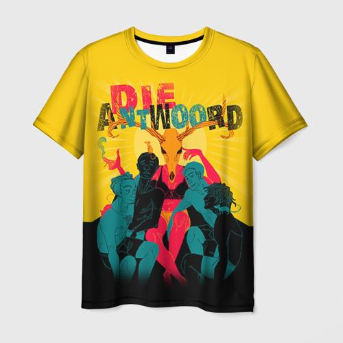 Мужская футболка 3D Die Antwoord 1
