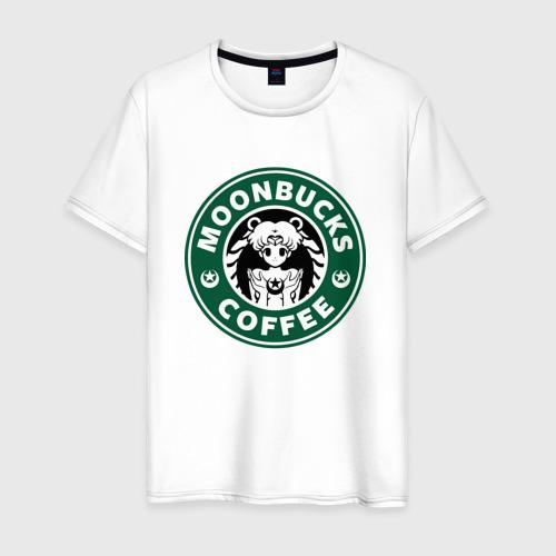 Мужская футболка хлопок Сейлор Мун. Старбакс