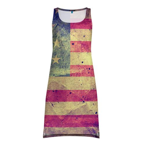 Платье-майка 3D Америка