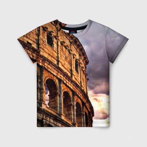 Детская футболка 3D Колизей