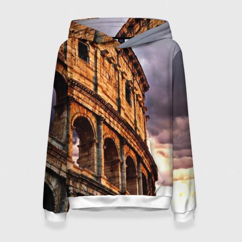 Женская толстовка 3D Колизей