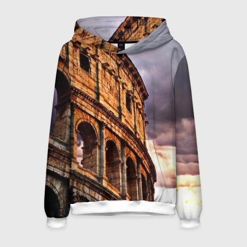 Мужская толстовка 3D Колизей