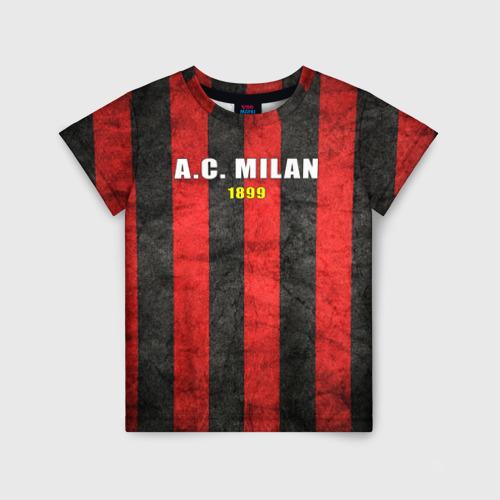 Детская футболка 3D A.C. Milan