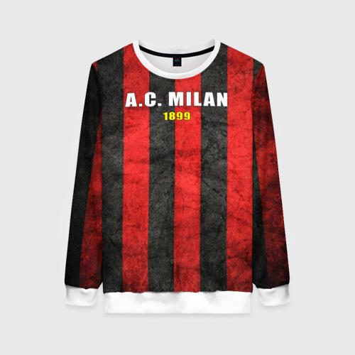 Женский свитшот 3D A.C. Milan