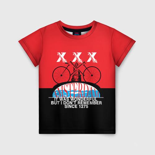 Детская футболка 3D Amsterdam t-shirt