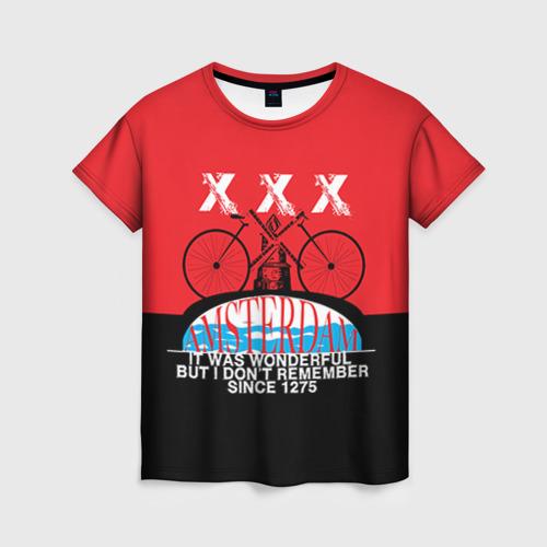 Женская футболка 3D Amsterdam t-shirt