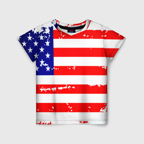 Детская футболка 3D Америка
