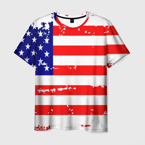 Мужская футболка 3D Америка