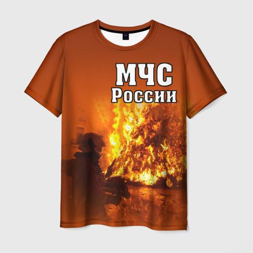 Мужская футболка 3D МЧС России