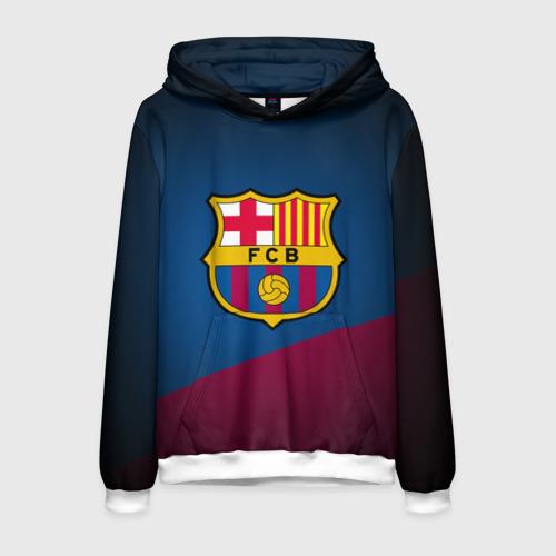 Мужская толстовка 3D ФК Барселона