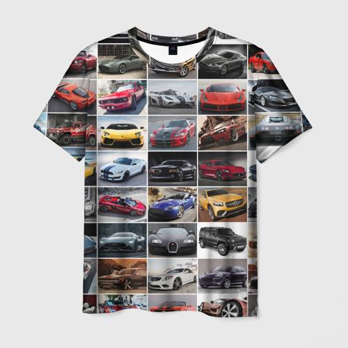 Мужская футболка 3D Элитные авто