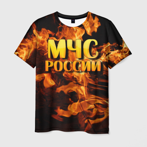 Мужская футболка 3D МЧС России 2