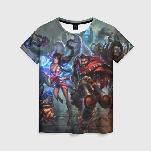 Женская футболка 3D League of legends