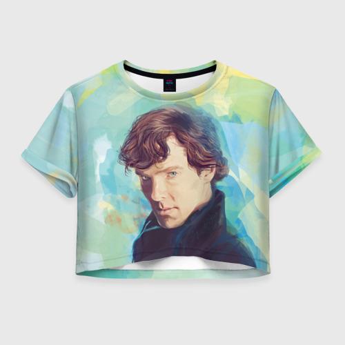 Женская футболка Crop-top 3D Элементарно