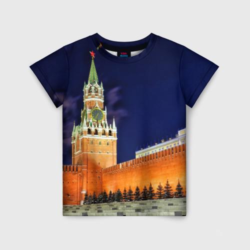 Детская футболка 3D Кремль