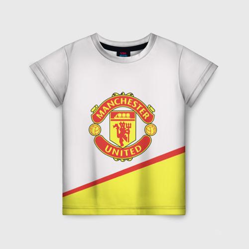 Детская футболка 3D Манчестер
