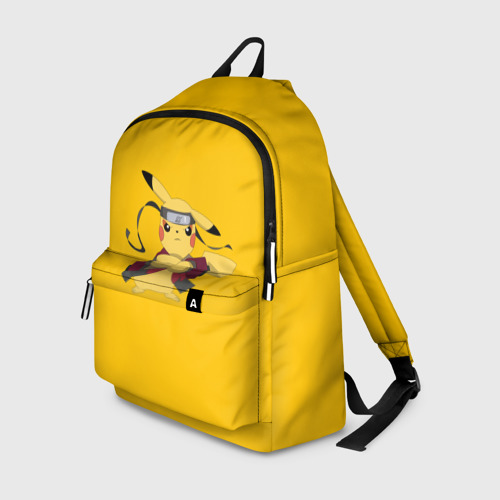 Рюкзак 3D Pikachu (Naruto Sage Mode)