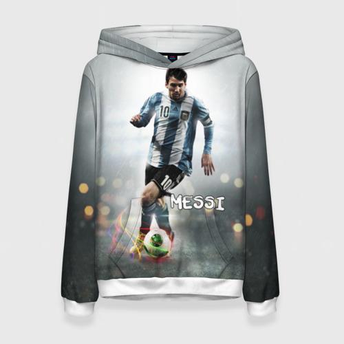 Женская толстовка 3D Leo Messi