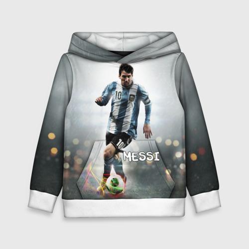 Детская толстовка 3D Leo Messi