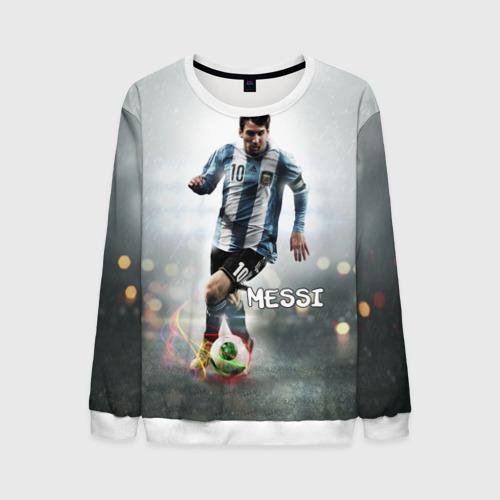 Мужской свитшот 3D Leo Messi