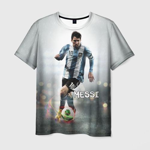 Мужская футболка 3D Leo Messi